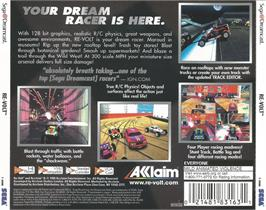 Box back cover for Re-Volt on the Sega Dreamcast.