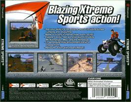 Box back cover for Xtreme Sports on the Sega Dreamcast.
