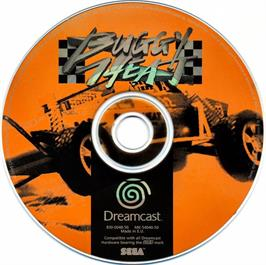 Artwork on the CD for Buggy Heat on the Sega Dreamcast.
