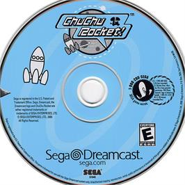 Artwork on the CD for ChuChu Rocket on the Sega Dreamcast.