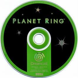 Artwork on the CD for Planet Ring on the Sega Dreamcast.