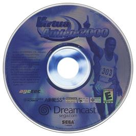 Artwork on the CD for Virtua Athlete 2K on the Sega Dreamcast.
