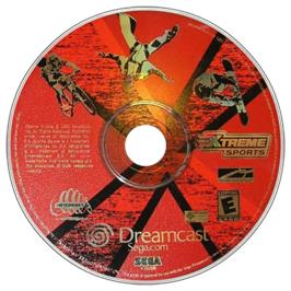 Artwork on the CD for Xtreme Sports on the Sega Dreamcast.