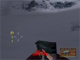 In game image of D2 on the Sega Dreamcast.