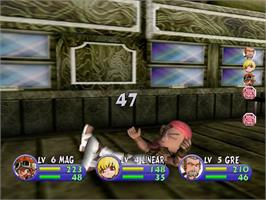 In game image of Evolution 2: Far off Promise on the Sega Dreamcast.