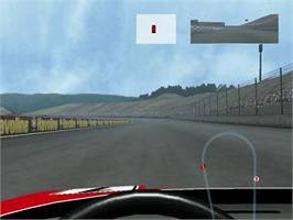 In game image of F355 Challenge on the Sega Dreamcast.