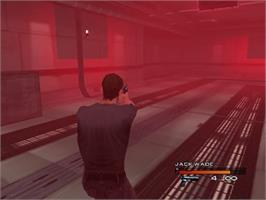 In game image of Headhunter on the Sega Dreamcast.
