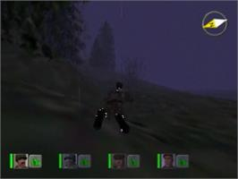 In game image of Hidden & Dangerous on the Sega Dreamcast.