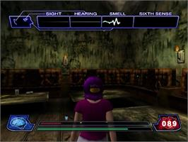 In game image of Illbleed on the Sega Dreamcast.