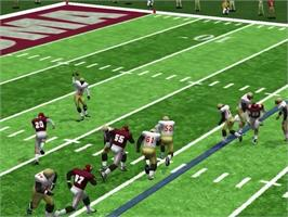 In game image of NCAA College Football 2K2: Road to the Rose Bowl on the Sega Dreamcast.
