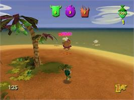 In game image of Ooga Booga on the Sega Dreamcast.
