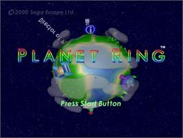 In game image of Planet Ring on the Sega Dreamcast.