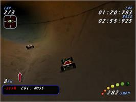 In game image of Re-Volt on the Sega Dreamcast.
