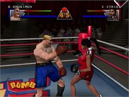 In game image of Ready 2 Rumble Boxing on the Sega Dreamcast.