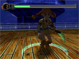 In game image of Skies of Arcadia on the Sega Dreamcast.