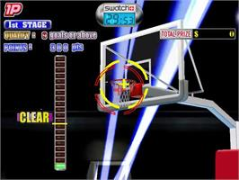 In game image of Sports Jam on the Sega Dreamcast.