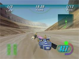 In game image of Star Wars: Episode I - Racer on the Sega Dreamcast.