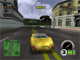 In game image of Test Drive 6 on the Sega Dreamcast.