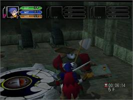 In game image of Time Stalkers on the Sega Dreamcast.