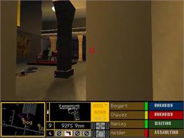 In game image of Tom Clancy's Rainbow Six: Rogue Spear on the Sega Dreamcast.