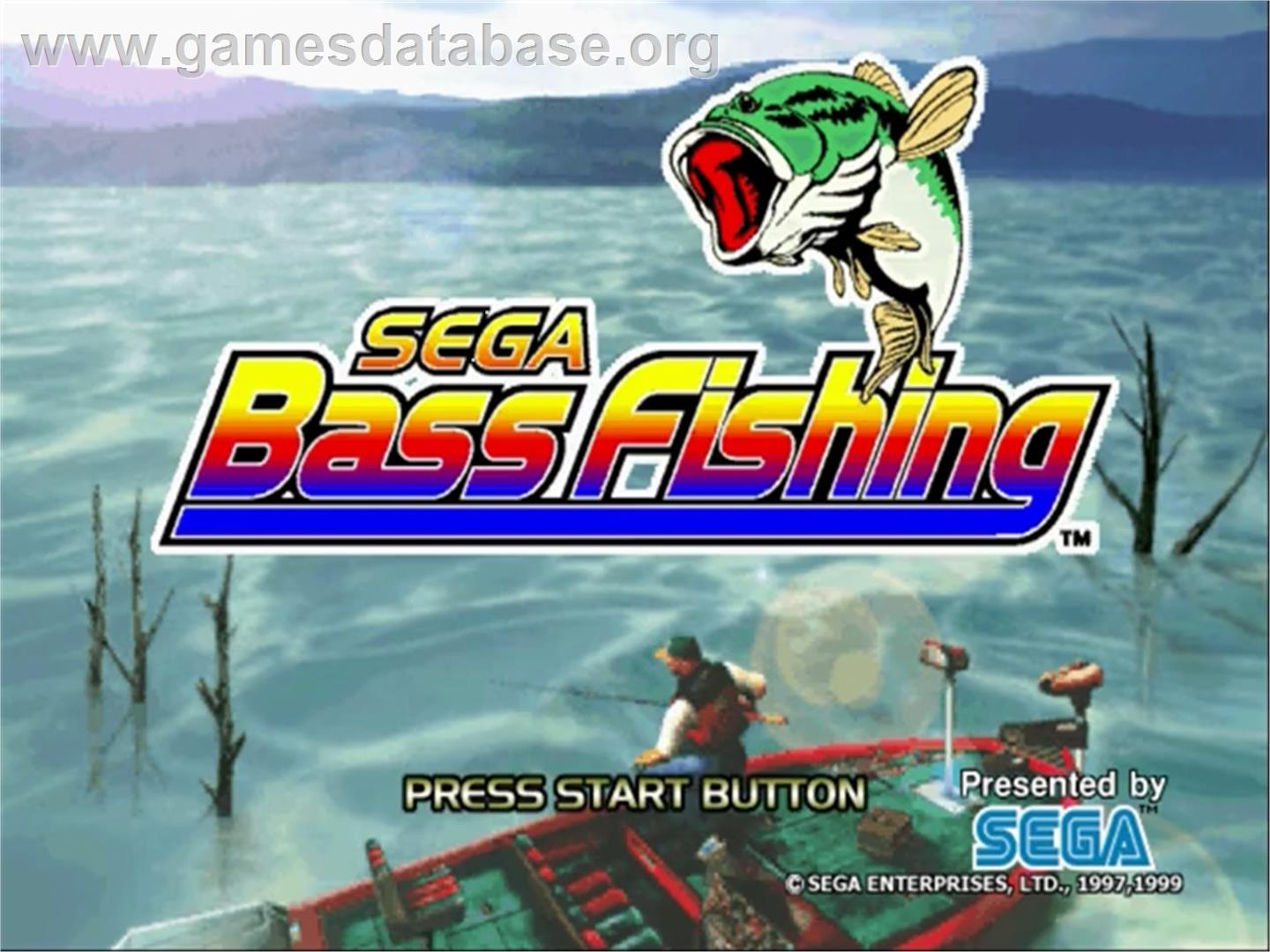 Sega bass fishing sega dreamcast games database for Nd game and fish stocking report