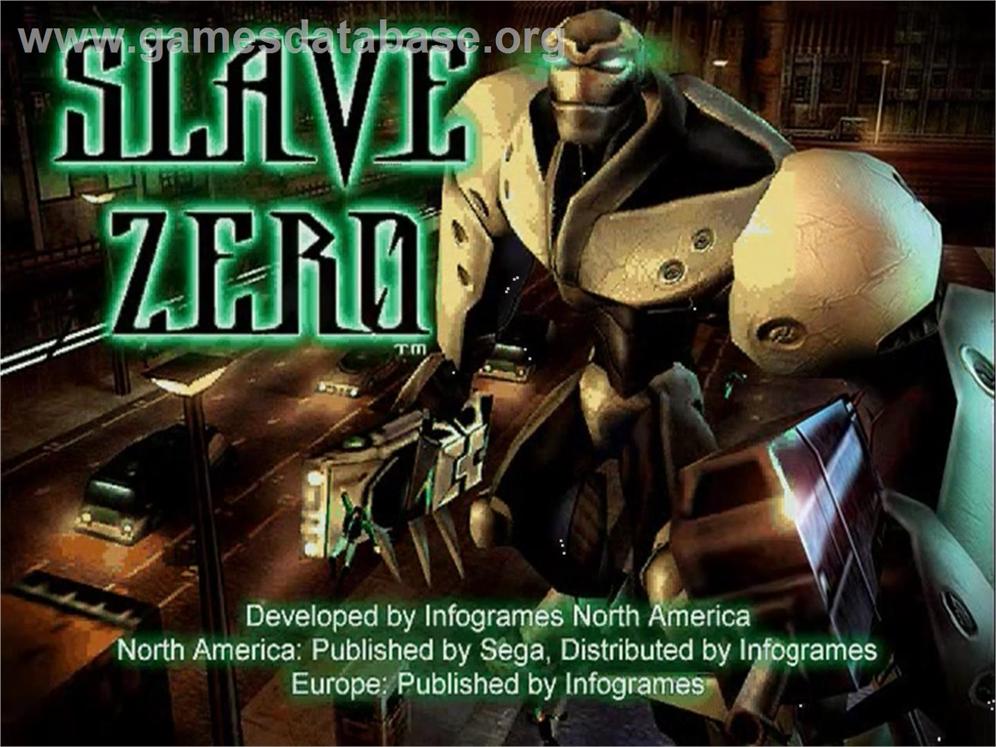 slave zero year 1999 tosec slave zero category shooter mame n a game