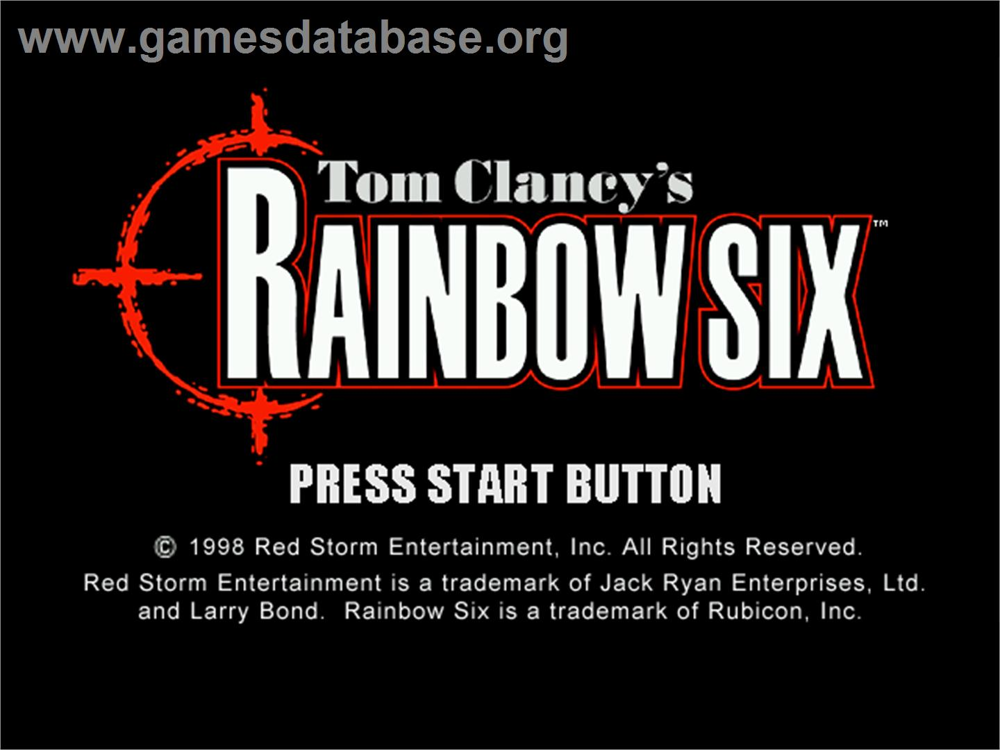 screen of Tom Clancy's Rainbow Six: Rogue Spear on the Sega Dreamcast