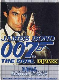 Box cover for 007: The Duel on the Sega Game Gear.