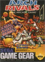 Box cover for Arch Rivals on the Sega Game Gear.