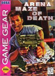Box cover for Arena: Maze of Death on the Sega Game Gear.