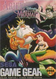 Box cover for Ariel the Little Mermaid on the Sega Game Gear.