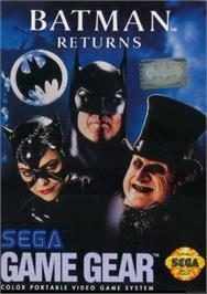 Box cover for Batman Returns on the Sega Game Gear.