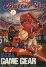 Box cover for Batter Up on the Sega Game Gear.