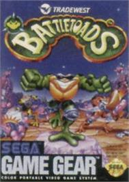 Box cover for Battle Toads on the Sega Game Gear.