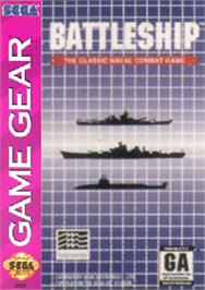 Box cover for Battleship on the Sega Game Gear.