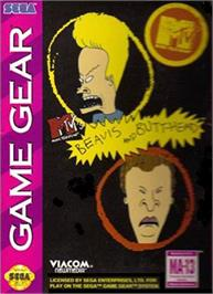 Box cover for Beavis and Butt-head on the Sega Game Gear.