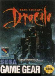 Box cover for Bram Stoker's Dracula on the Sega Game Gear.