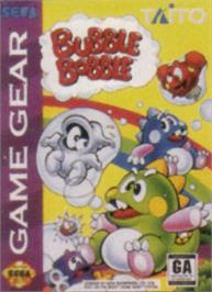 Box cover for Bubble Bobble on the Sega Game Gear.