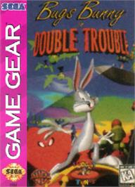 Box cover for Bugs Bunny in Double Trouble on the Sega Game Gear.