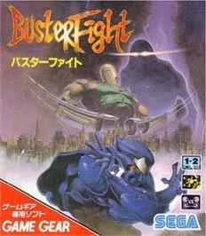 Box cover for Buster Fight on the Sega Game Gear.