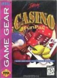 Box cover for Casino FunPak on the Sega Game Gear.