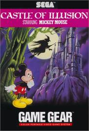Box cover for Castle of Illusion starring Mickey Mouse on the Sega Game Gear.