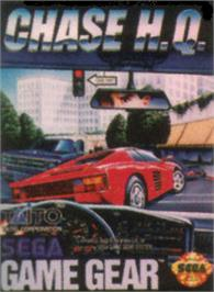 Box cover for Chase H.Q. on the Sega Game Gear.