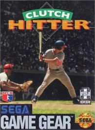 Box cover for Clutch Hitter on the Sega Game Gear.