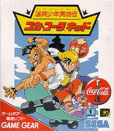 Box cover for Coca Cola Kid on the Sega Game Gear.