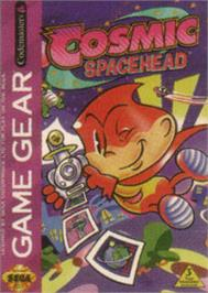 Box cover for Cosmic Spacehead on the Sega Game Gear.