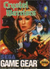 Box cover for Crystal Warriors on the Sega Game Gear.