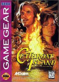 Box cover for Cutthroat Island on the Sega Game Gear.