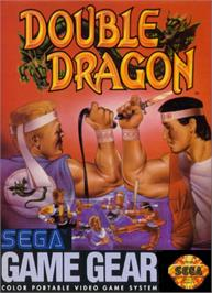 Box cover for Double Dragon on the Sega Game Gear.