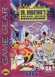 Box cover for Dr. Robotnik's Mean Bean Machine on the Sega Game Gear.